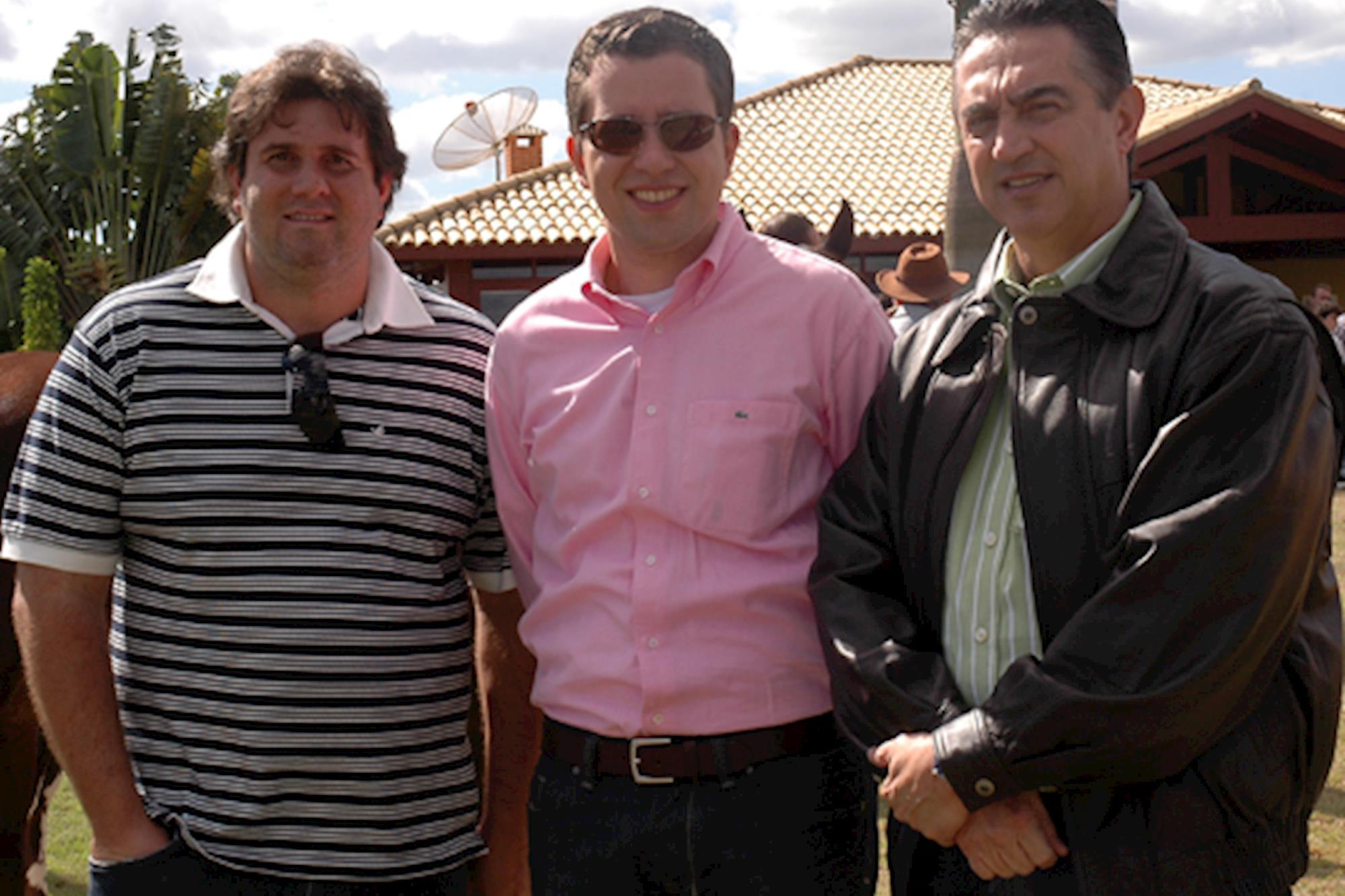 Fábio Tarpivian,  Fernando Tardioli e Sérgio Paiva, Leilão de Maio
