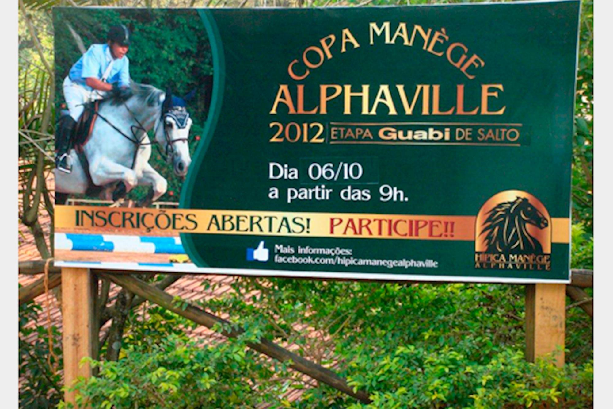 Mànege Alphaville realiza mais uma etapa