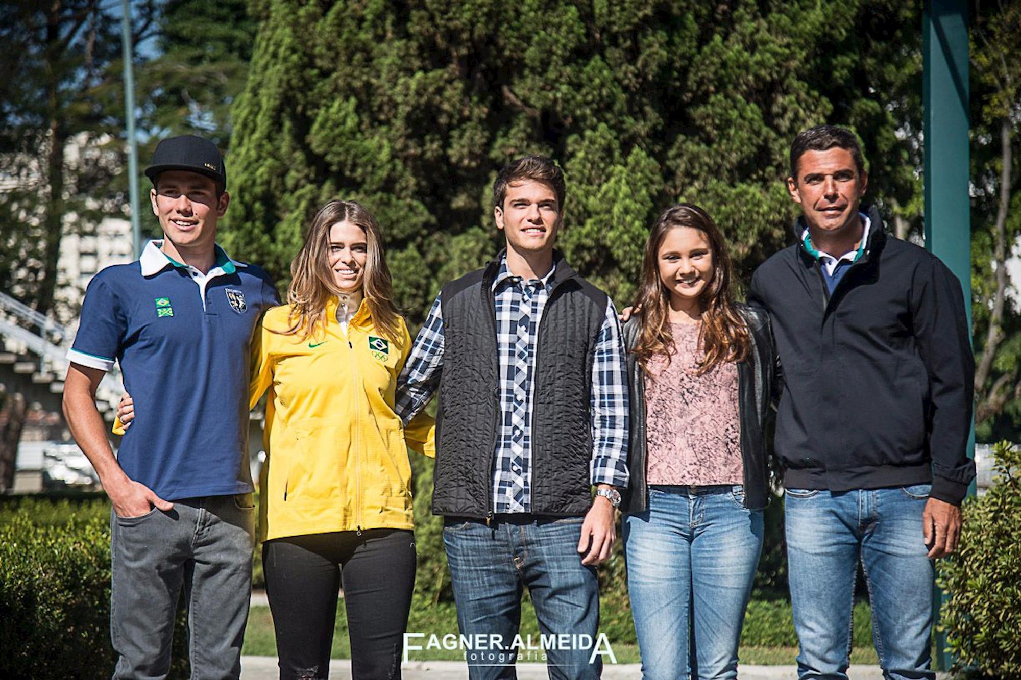 Conheça os perfil dos atletas do Brasil
