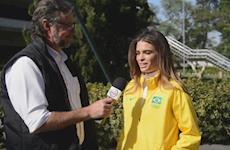 Luiza Tavares: de caçula a veterana da equipe de Adestramento