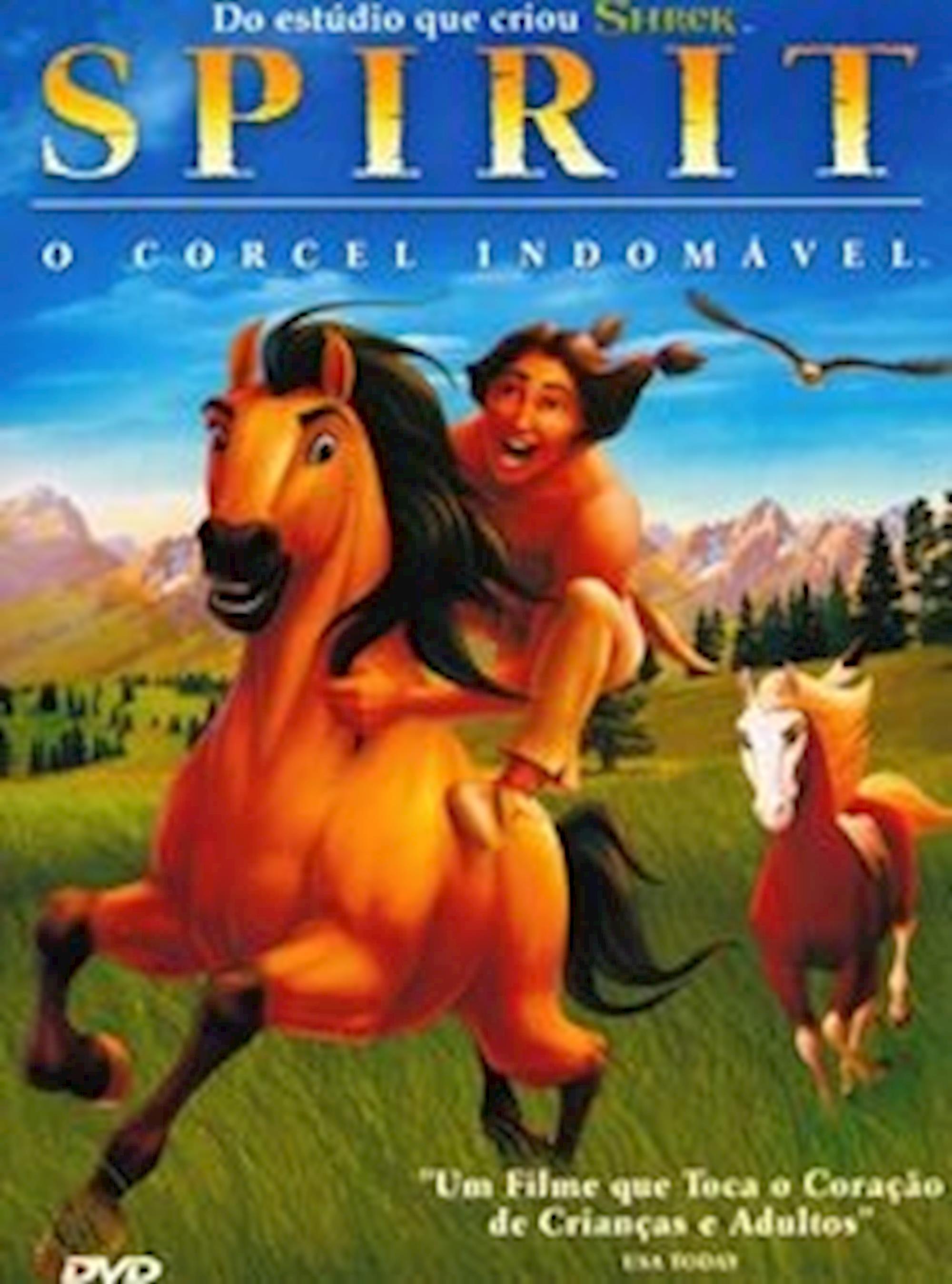 filmes de cavalos, dicas de filmes, Spirit, O Corcel Indomável,