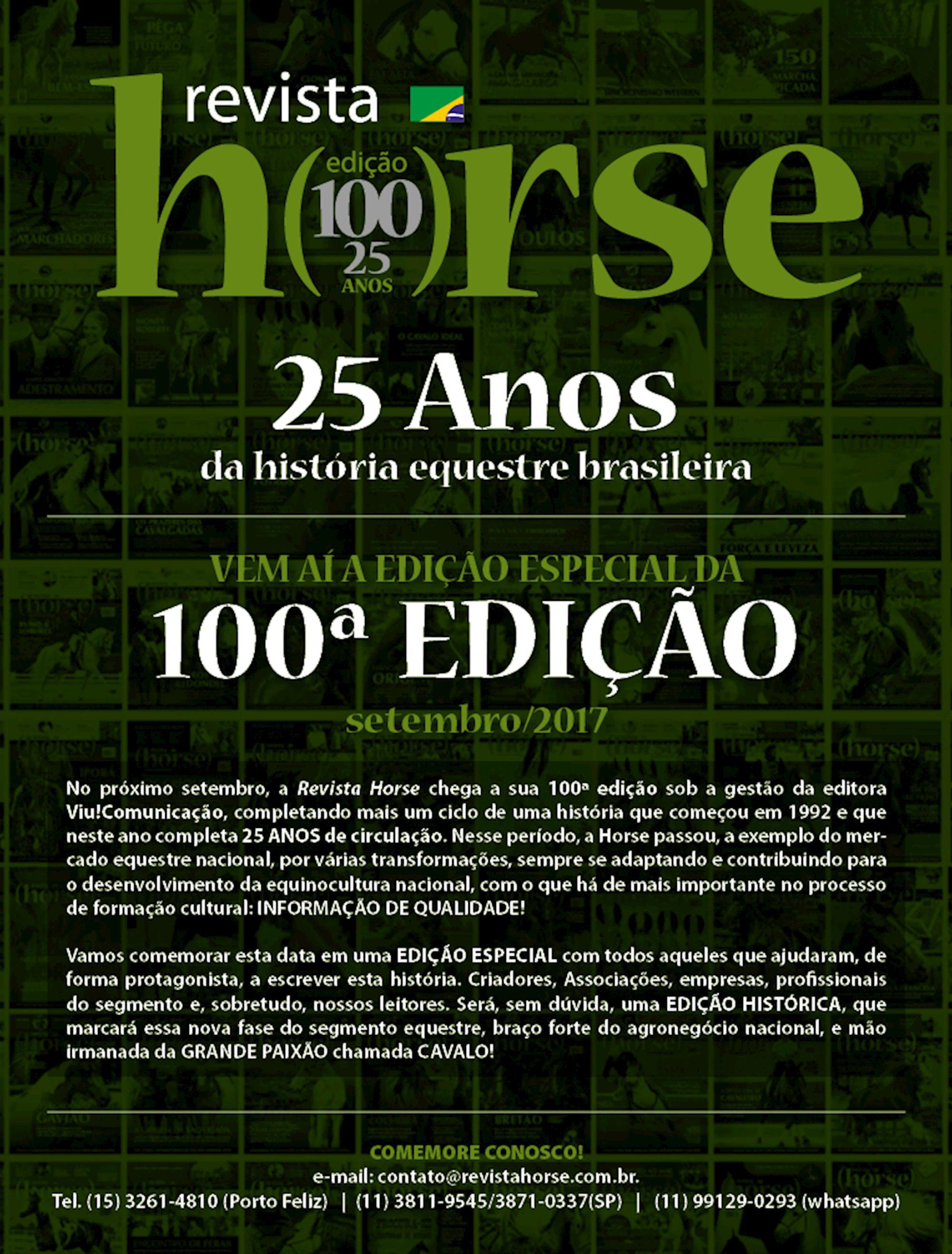 Horse especial, Revista Horse,