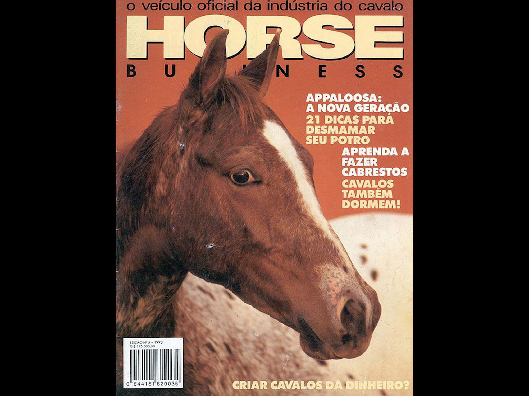 Todas as capas da Horse Business