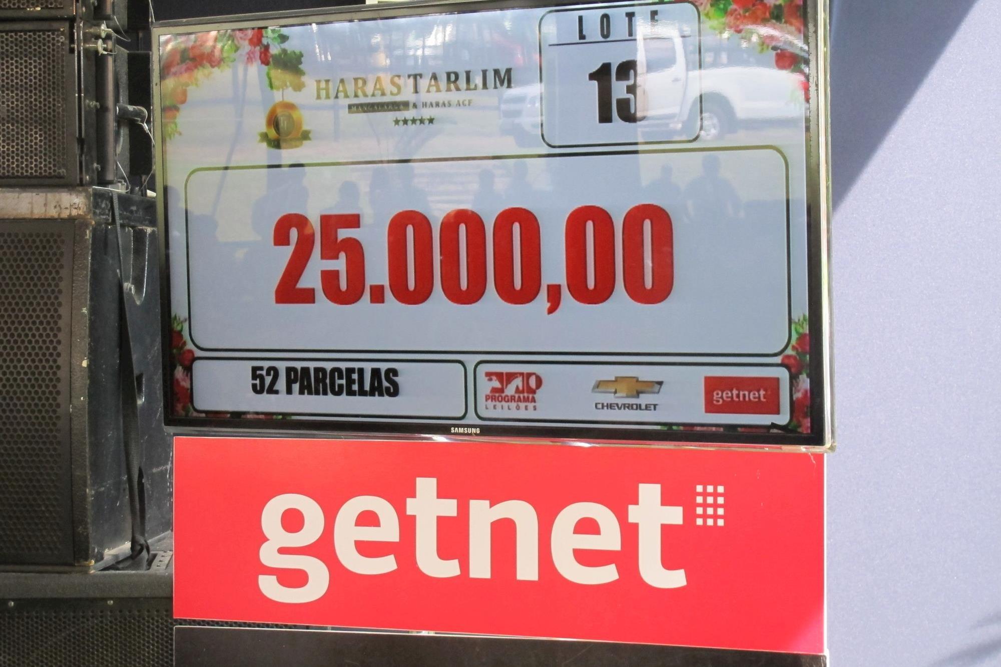 Uma Mangalarga de R$ 1, 3 milhão