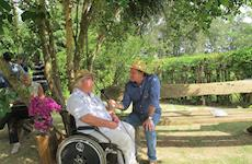 Cavalos ajudam Raul Almeida Prado