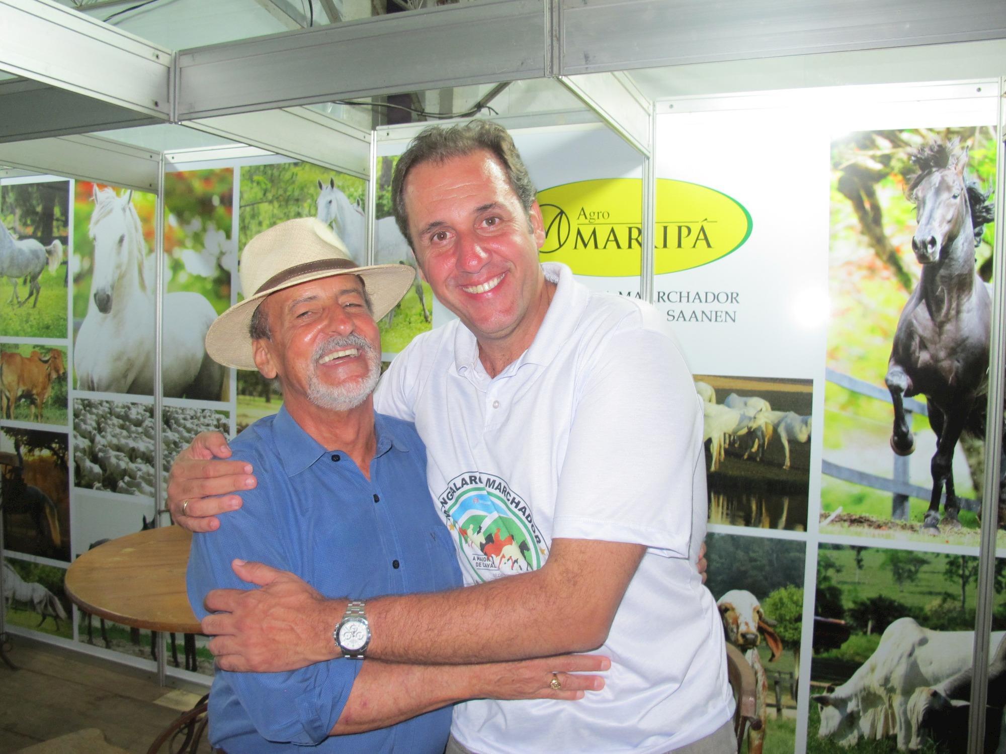 Marcelo Baptista, Daniel Borja, Marcelo Mastrobuono