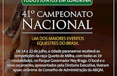 ABQM transfere Nacional para Londrina