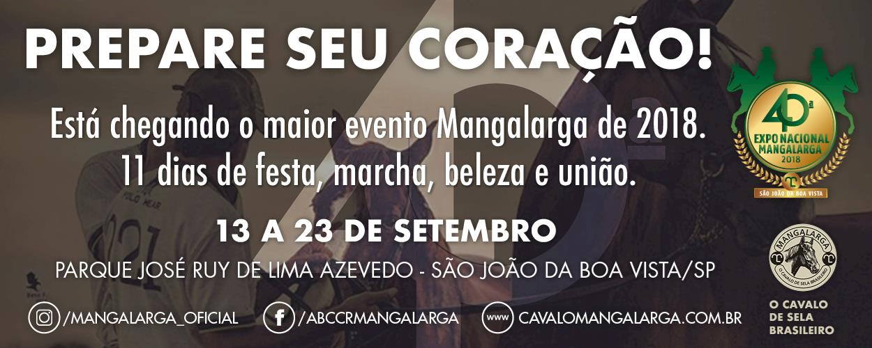 Nacional Mangalarga 2018