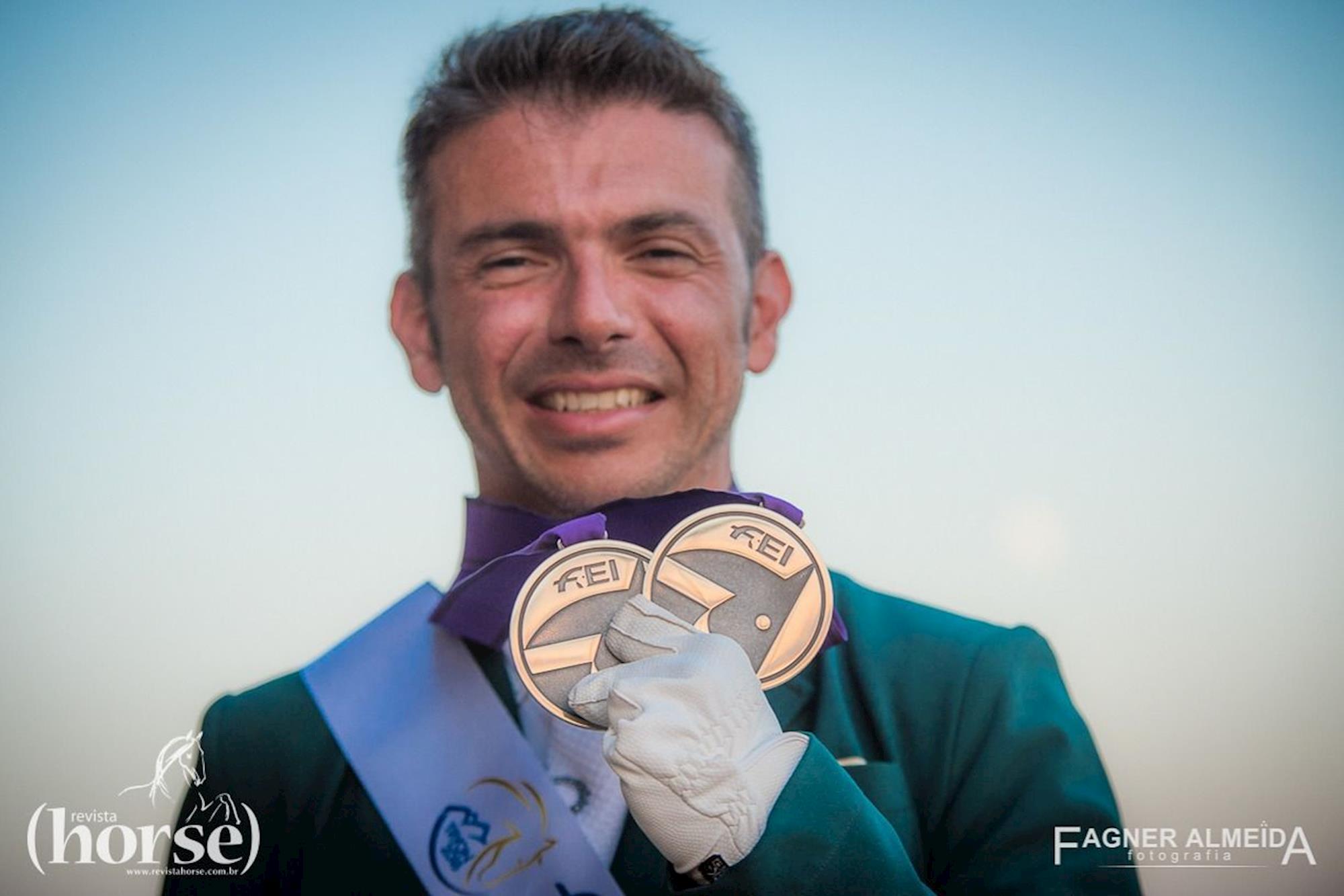 Rodopho Riskalla garante sua segunda medalha de Prata nos Jogos Mundiais