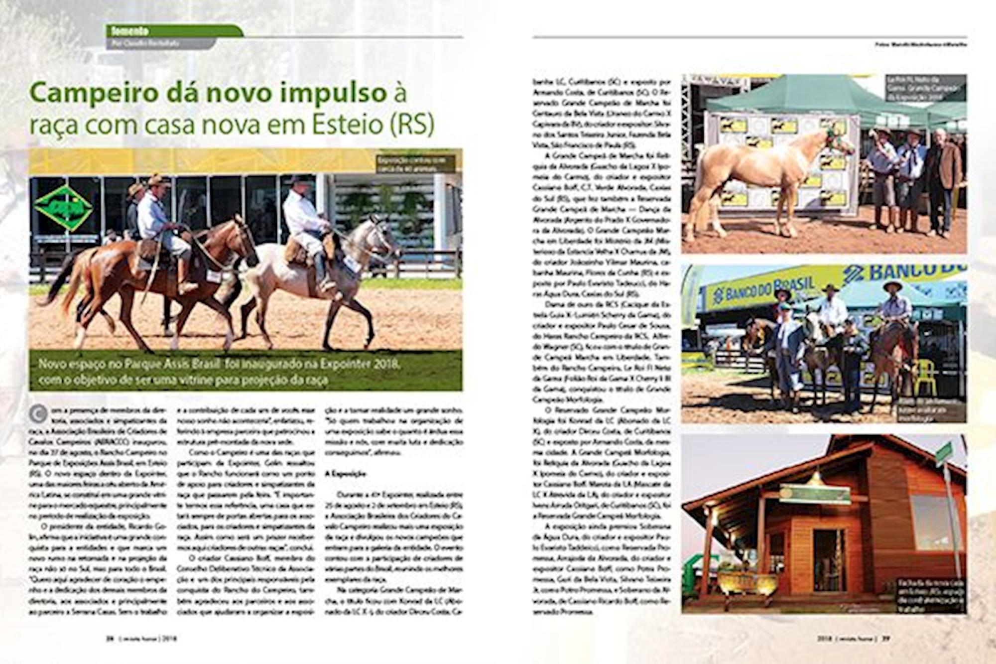 Nova edição da Horse chegando