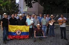 Colombianos rumo ao Encontro de Iporá (GO)