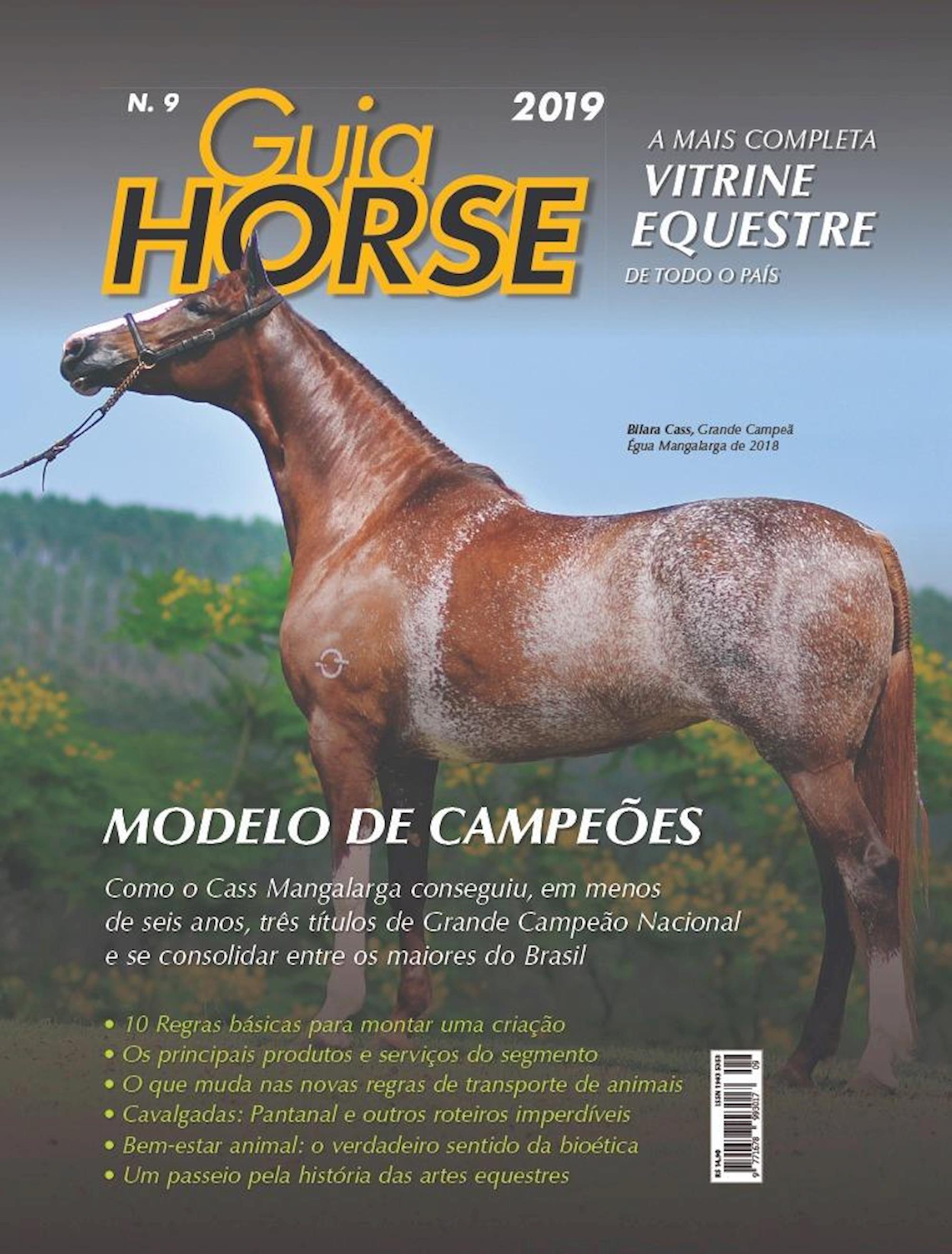 guia horse 2019, edições,