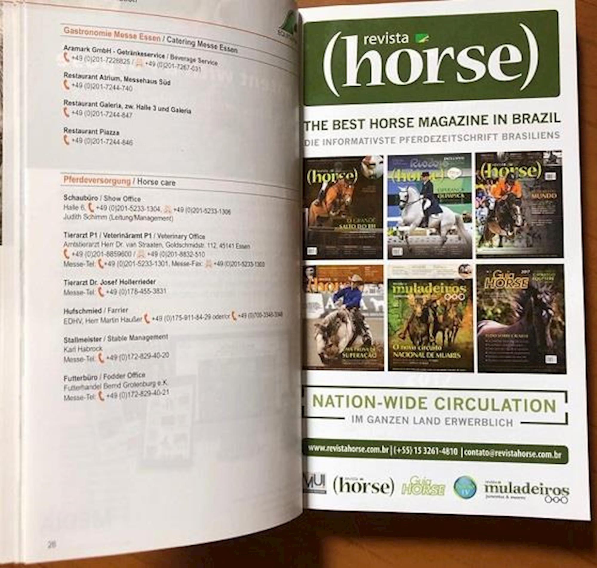 equitana 2019, 2019, imprensa, Revista Horse,