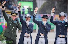 Time Brasil é Bronze no Adestramento