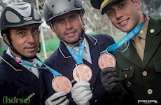 Três brasileiros vão para final do Adestramento Individual