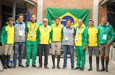 A vez do Time Brasil de Salto