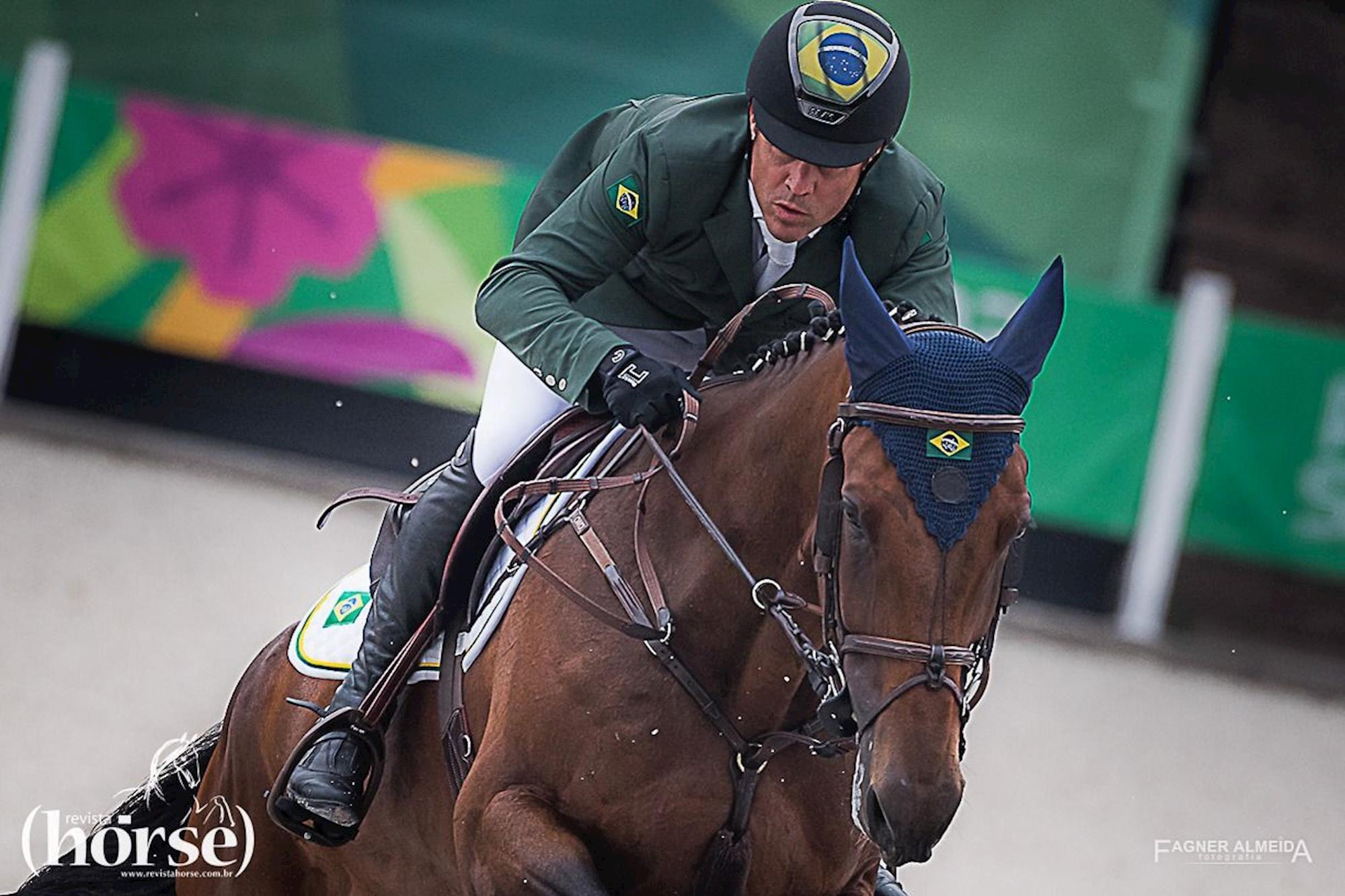 Rodrigo Lambre com Chacciama, Rodrigo Lambre,  Chacciama, Time Brasil dá grande salto para o pódio e à vaga da Olimpíada de Tóquio