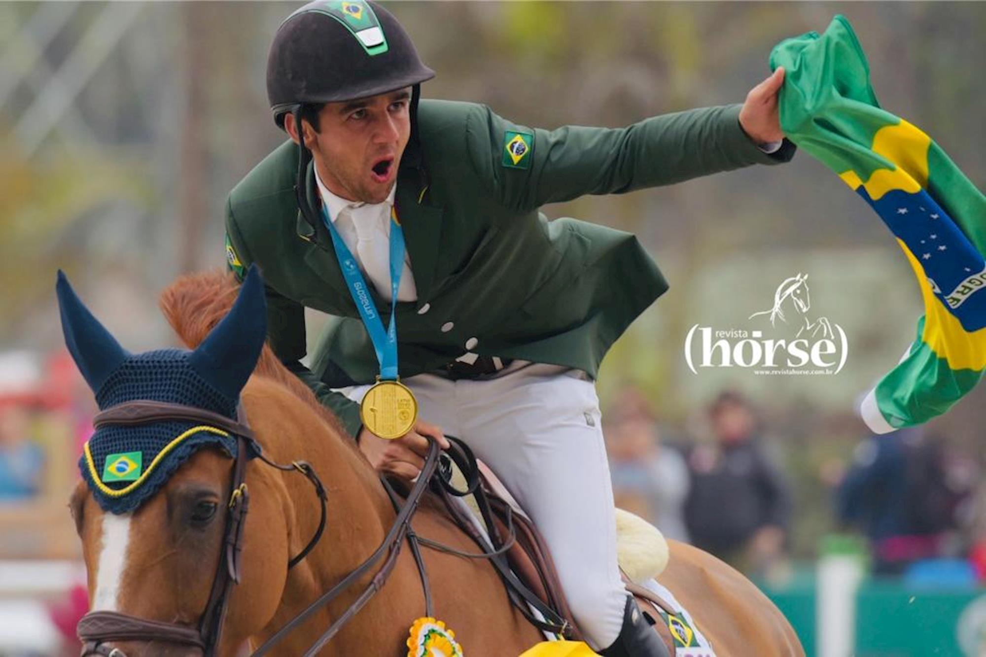 final, salto, pan de lima 2019, Marlon Zanotelli, Sirene de La Motte:, Fagner Almeida/Revista Horse