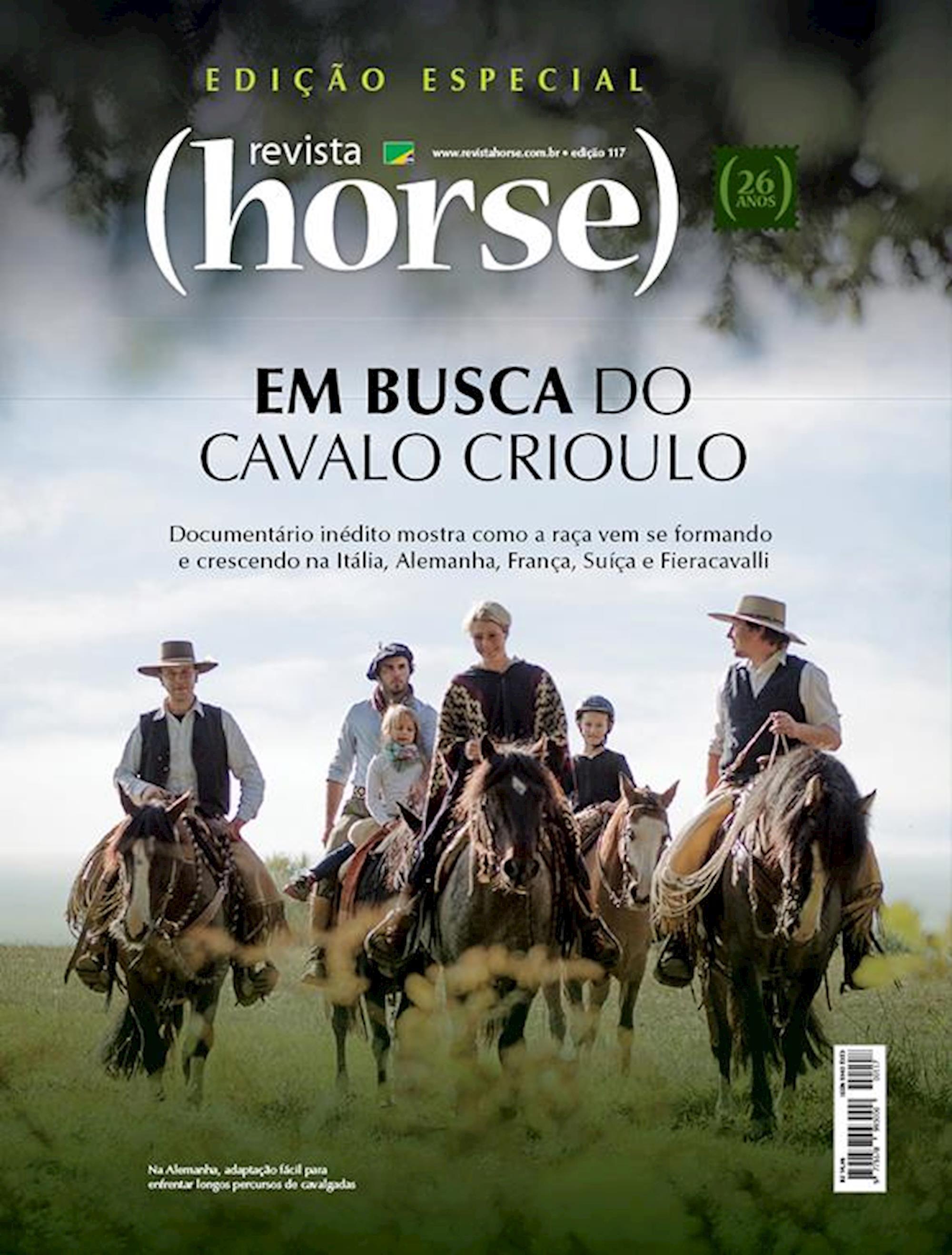 edição 117, Em Busca do Cavalo  Crioulo, Horse, Crioullo, Europa,