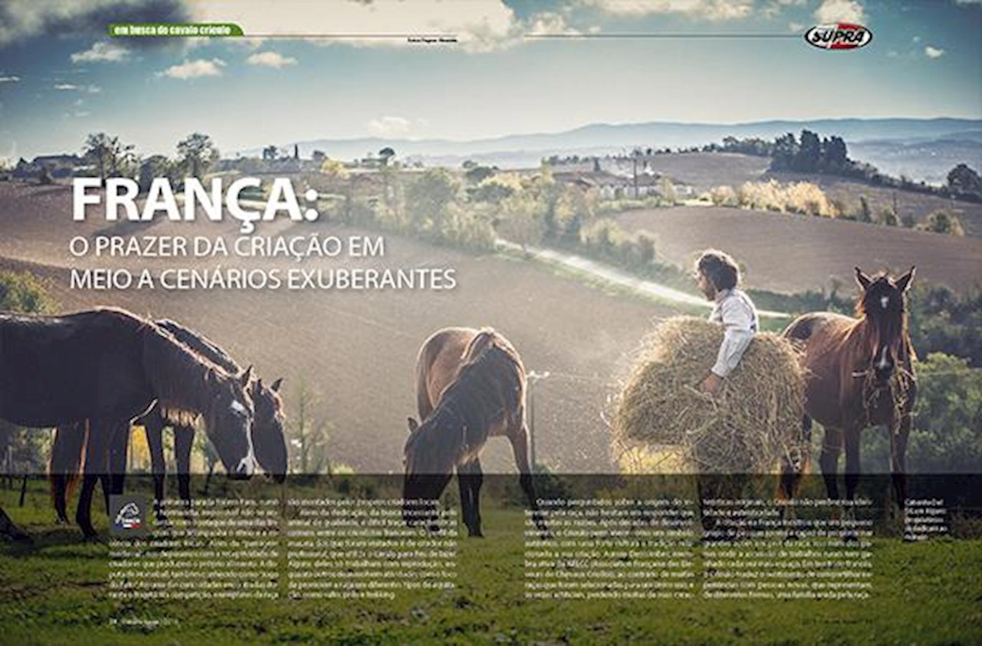 edição 117, Em Busca do Cavalo Crioulo, Fagner Almeida, Horse, Europa, França,