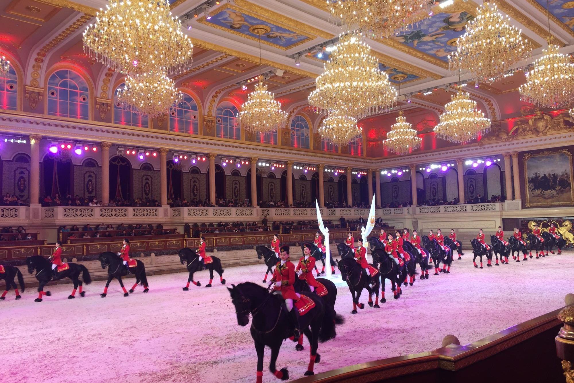 O Templo equestre chinês