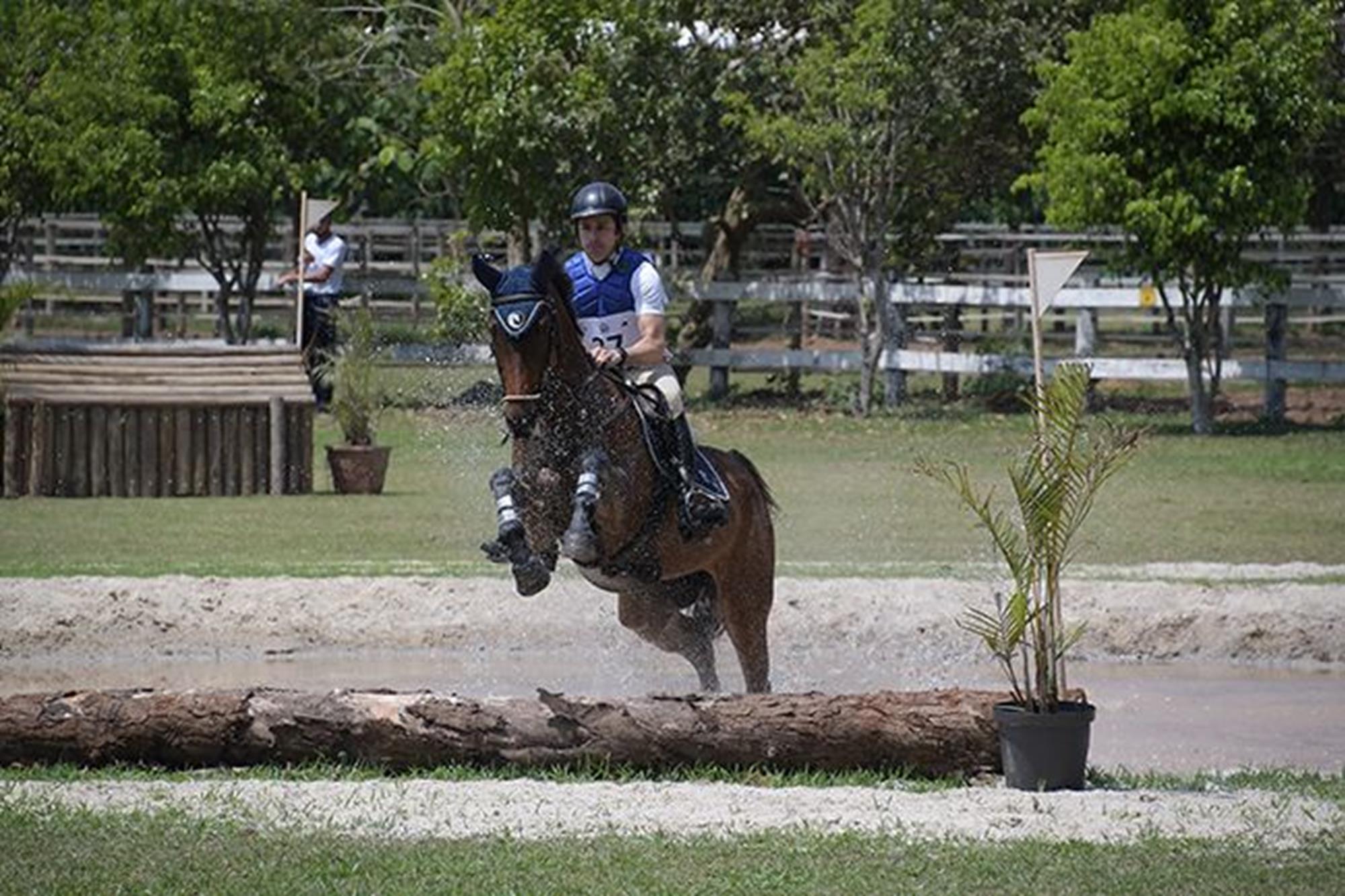 Rafael Ribeiro montando Firenze HCR,  emplacou em 7º na classificação geral e foi vice entre os cavalos novos 7 anos, Duílio Andrade/Assessoria, O OURO DA CASA