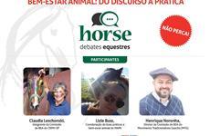 Debates Equestres - Bem-estar animal: do discurso à prática