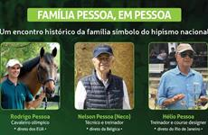 """Horse reúne """"Família Pessoa"""""""