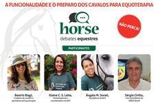 A formação e preparo dos cavalos de equoterapia