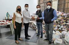 ABCCA doa 3 toneladas de alimentos