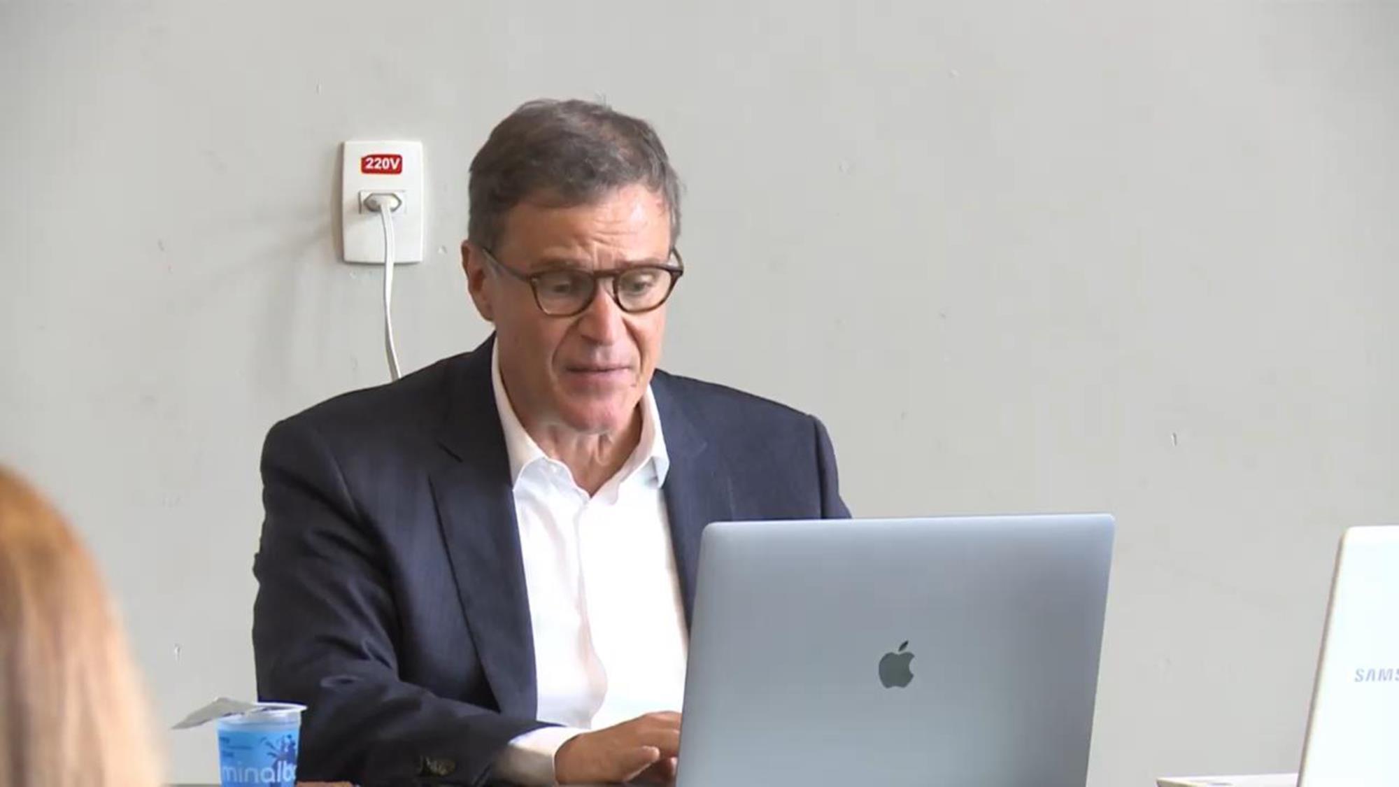 assembleia oposição, maio 2021, eleição cbh, José Vicente Marino, Reprodução