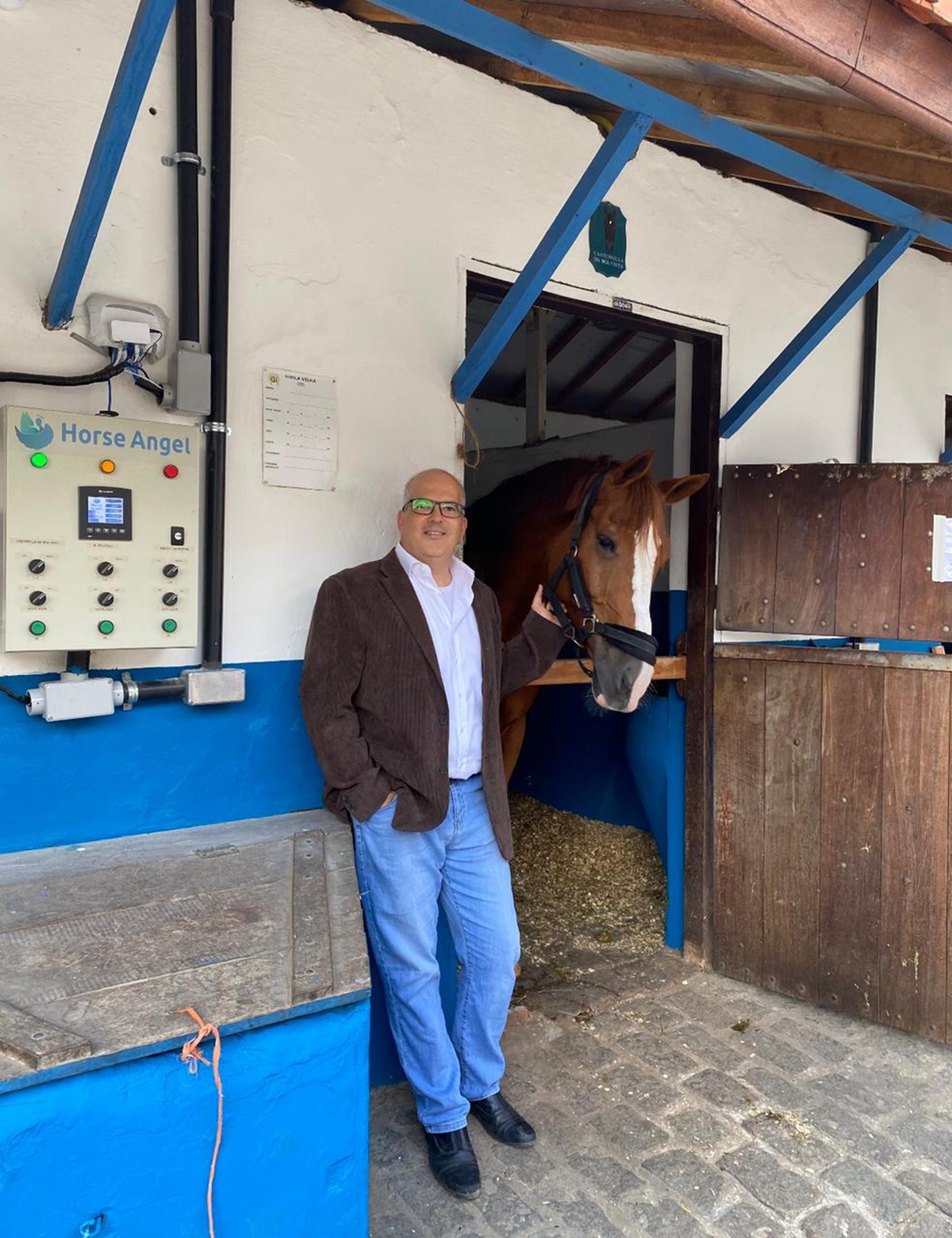 horse angel, Manejo de cavalo, Luiz Vieira, cocheiras, Divulgação