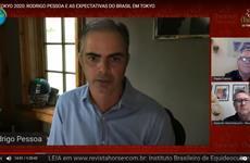 Em Live, Rodrigo Pessoa fala sobre as expectativas do Brasil em Tóquio