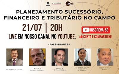 Live Planejamento Sucessório, live planejamento sucessório, ibequi 2021, 2021, imprensa