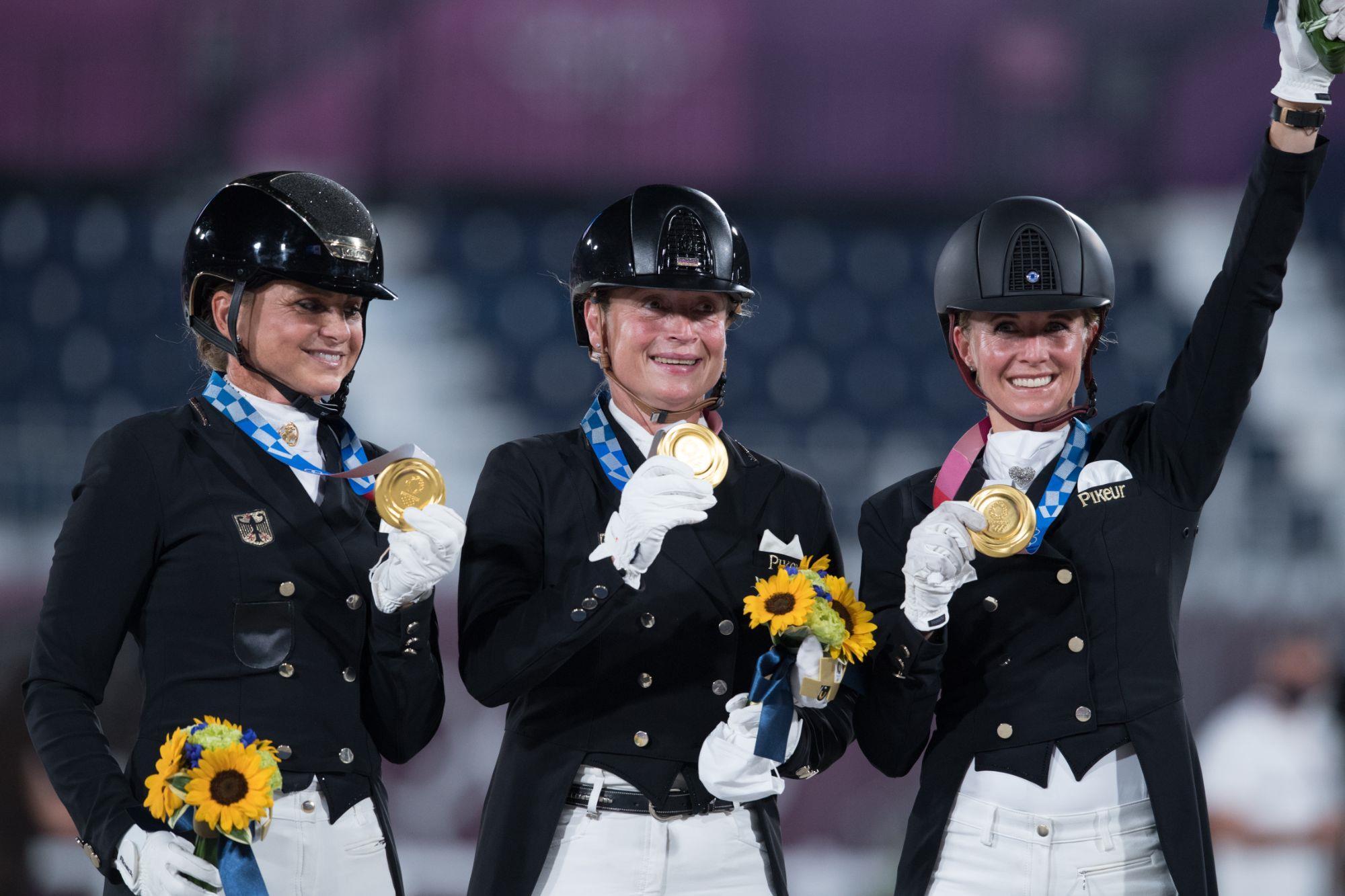 Alemanha confirma hegemonia no Adestramento e conquista seu 14º Ouro
