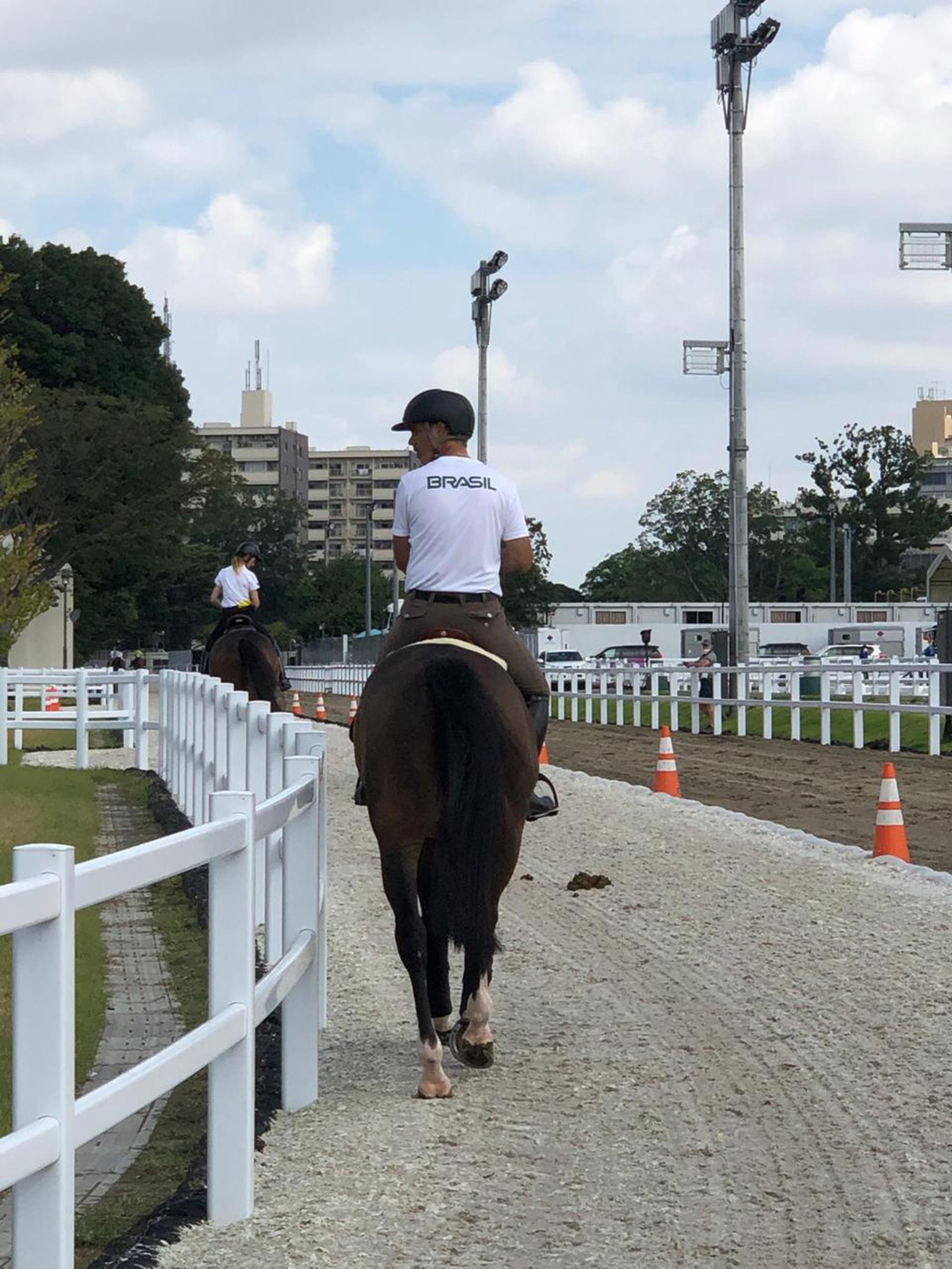 Rodrigo Pessoa, Tóquio, olimpíada, Arquivo pessoal