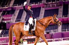 Charlotte Dujardin, charlotte dujardin, final individual, adestramento, tokyo 2021, 2021, imprensa