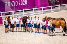 Inspeção dos Cavalos, inspeção dos cavalos, cce, tokyo 2021, 2021, imprensa