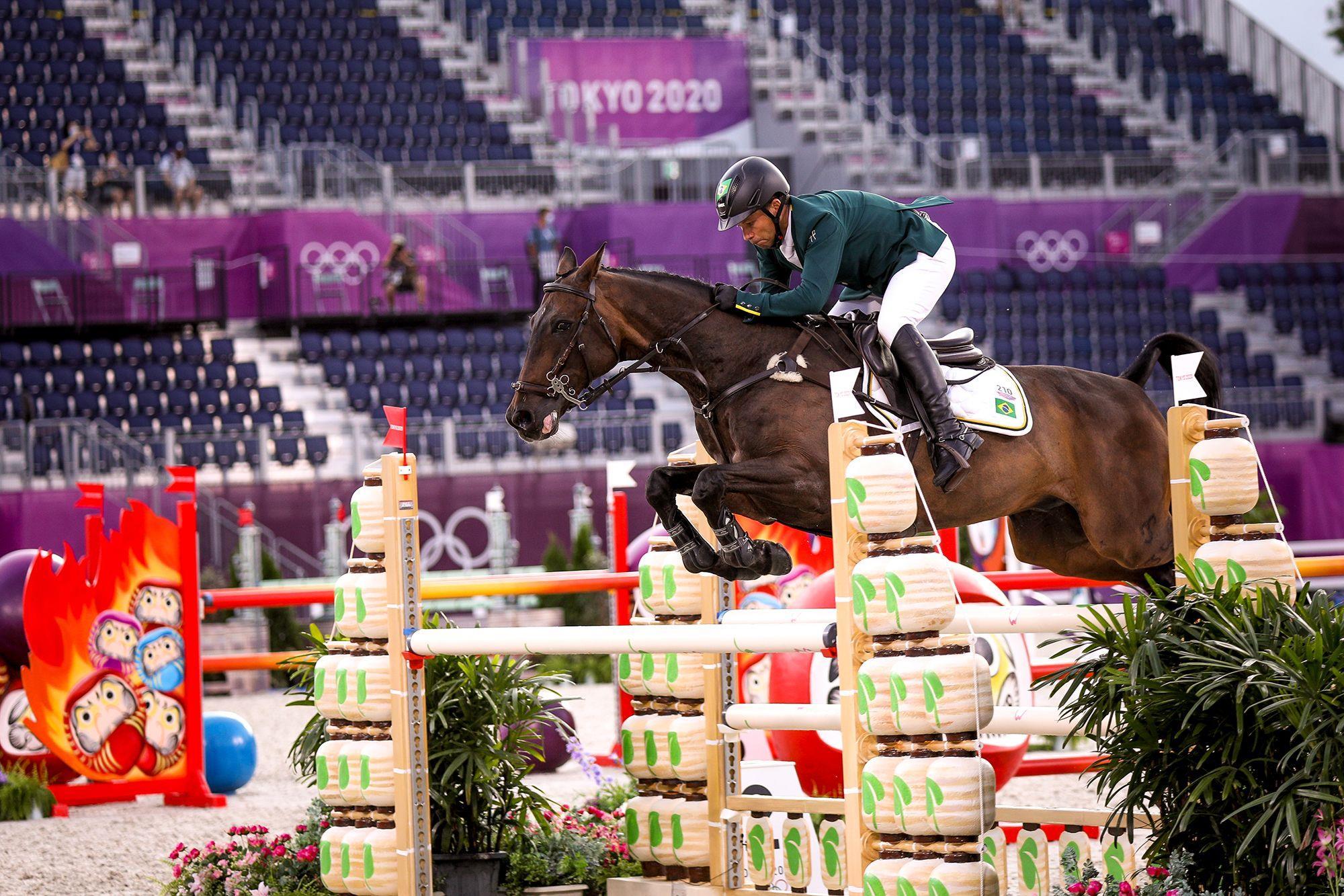 Marcio Appel e Iberon JMen: despedida em final olímpica com apenas uma falta, Luis Ruas/CBH, CCE com muitas emoções