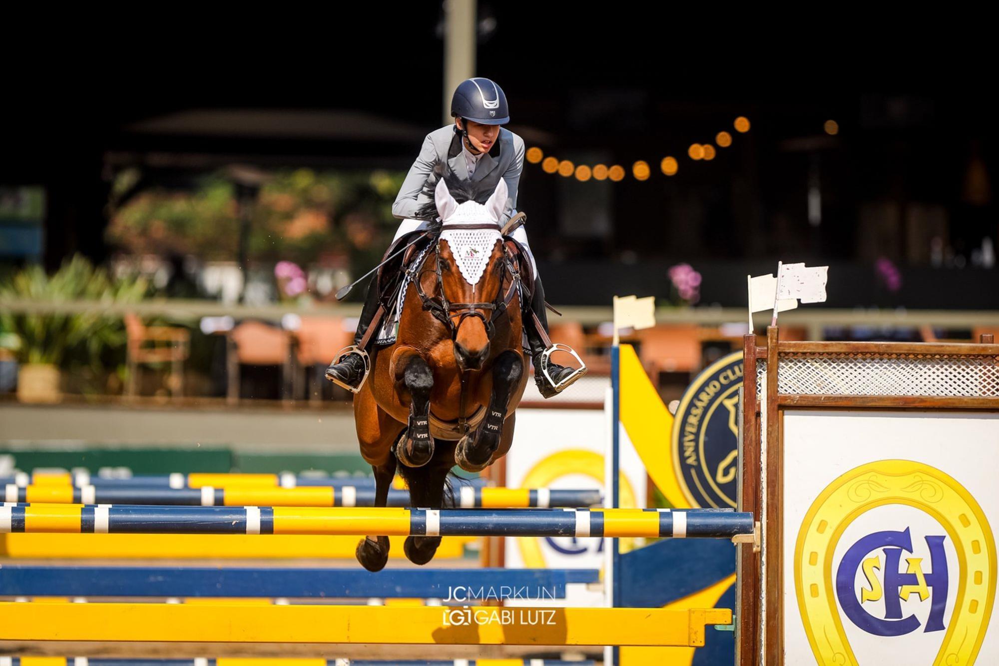 Nina Storrer Müller e Lady Flores  , Hipismo,  juventude,  cavalo,  salto, JC Markun, Irmãs conquistam o Campeonato Brasileiro da Juventude de Salto